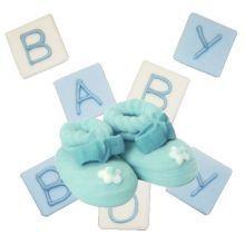 Decorazioni in Zucchero per Dolci Baby e Neonato