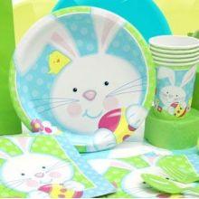 Festa di Pasqua Coniglietto e Pulcino