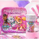 Festa Paw Patrol Bambina in Rosa