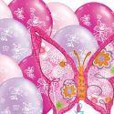 Palloncini Fate Farfalle Fiori