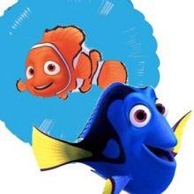 Palloncini Tema Mare Dory e Nemo