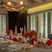 Decorazioni tavola di Natale