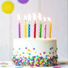 Candeline per Torte Compleanno