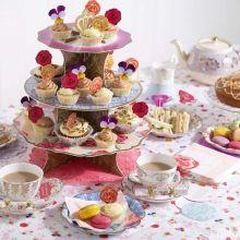 Alzatine torte e cupcakes