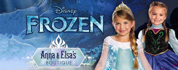 Anna e Elsa Boutique Costumi Frozen