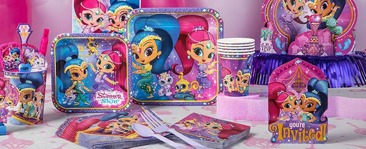Festa compleanno Shimmer and Shine