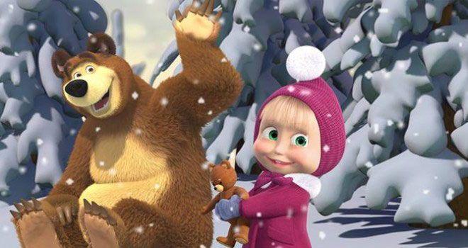 Festa Masha orso Inverno
