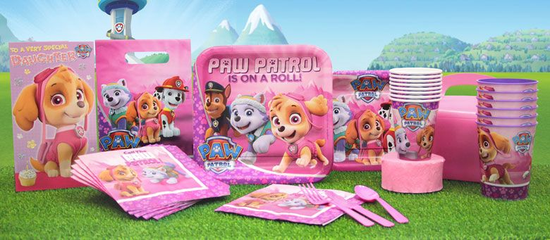 Festa compleanno Paw Patrol Bambina