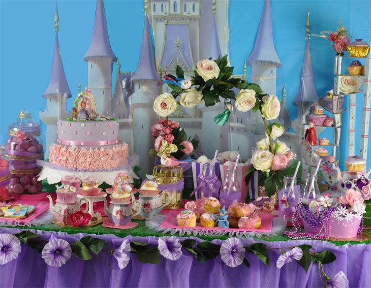 Festa Principessa Sofia Sweet Table