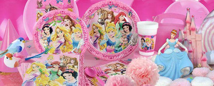 festa a tema Principesse Disney