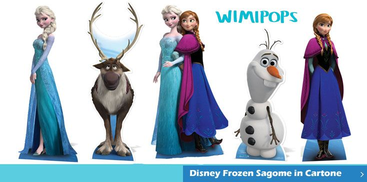 Disney Frozen Sagome in cartone