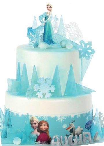 torta Frozen ghiaccio
