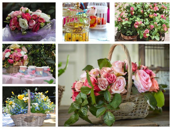 accessori addobbi fiori giardino