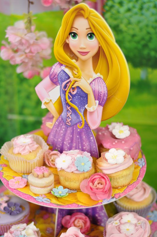 Alzatina Principesse Disney Raperonzolo
