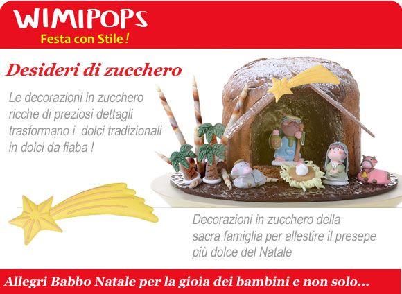 decorazioni zucchero Natale