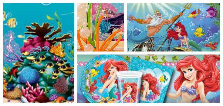 Festa Ariel Sirenetta
