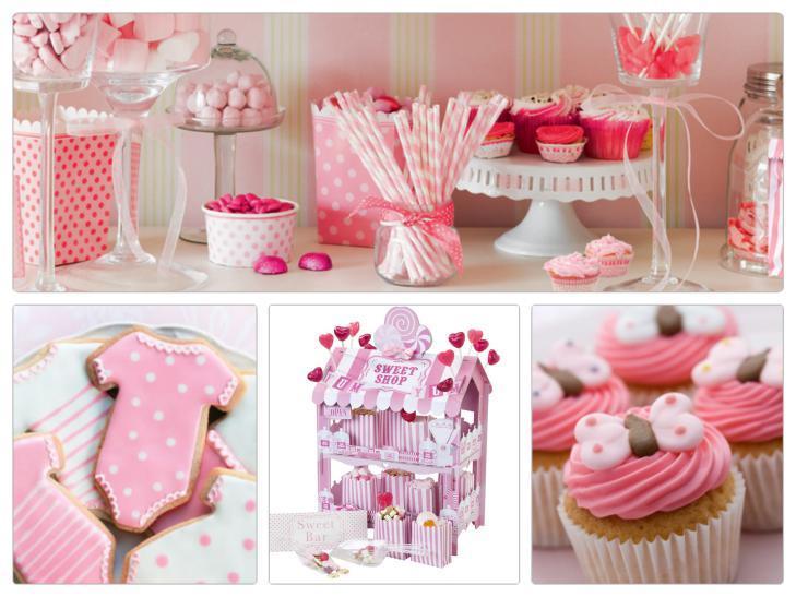 Festa Nascita Bambina Rosa