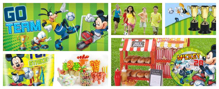 festa calcio bambini topolino