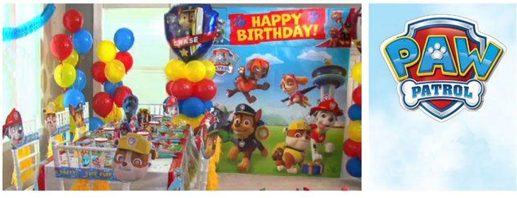 Festa Compleanno Paw Patrol