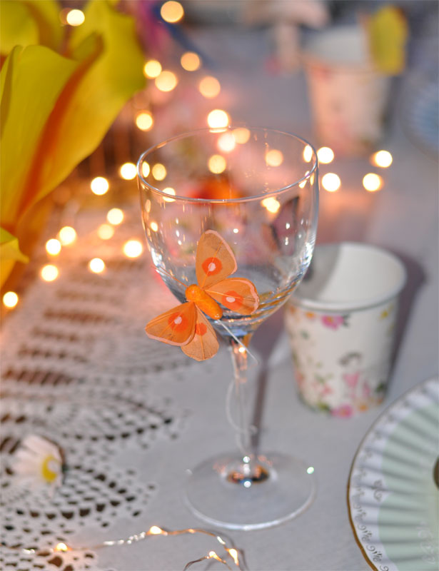 Festa delle fate farfalle con pick