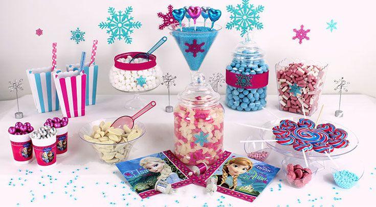 Frozen Sweet Tables buffet