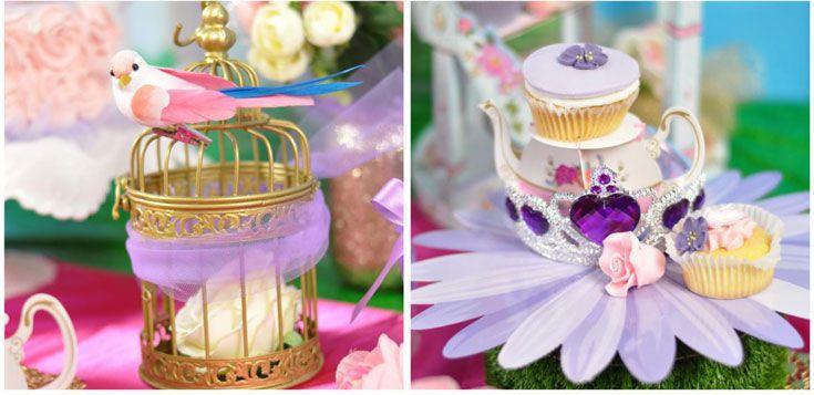 festa principesse decorazioni