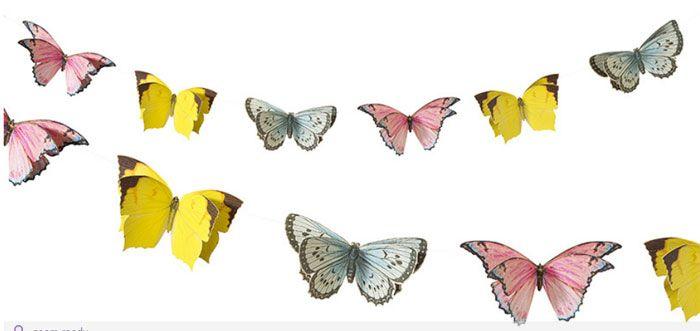 ghirlanda farfalle festa fate