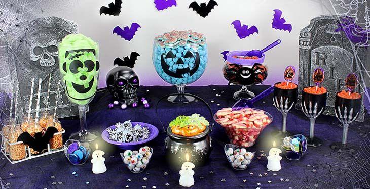 Halloween buffet dolocetti