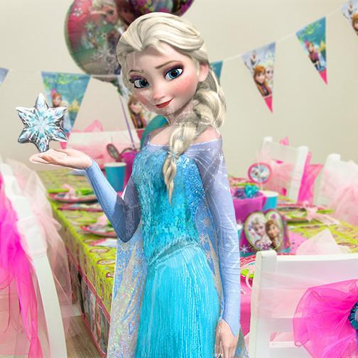palloncino grande Elsa Airwolker