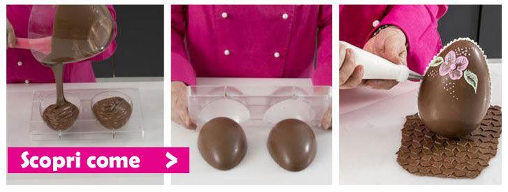 Realizzare Uova di Cioccolato