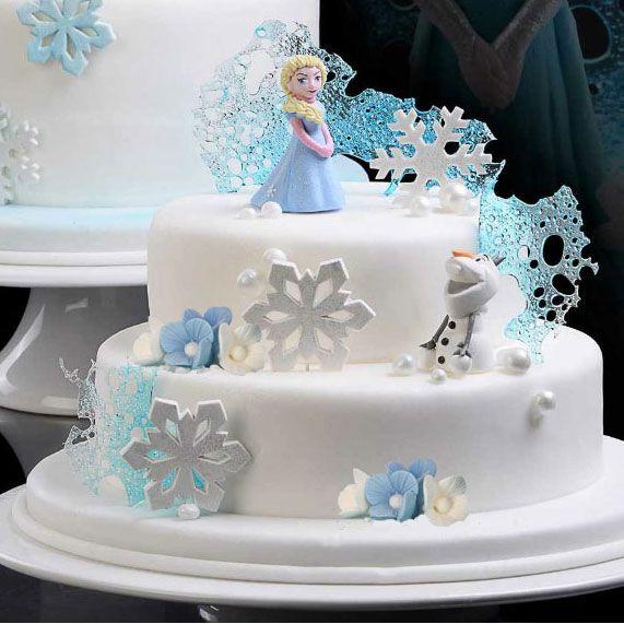 Torta Frozen Elsa e Olaf